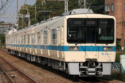 【小田急】8000形8056F 出場試運転