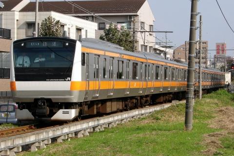 【JR東】E233系青編成使用の試運転