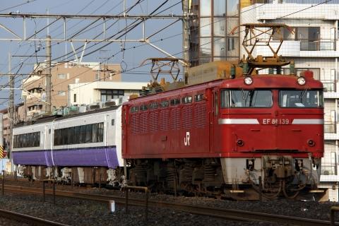 【JR東】485系モハユニット郡山総合車両センター出場