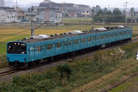 【JR東】201系K1編成東金線試運転
