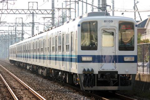 【東武】8000系81109F 南栗橋車両管理区出場