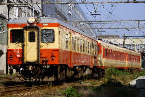 【JR東】キハ58系+キハ52形「只見紅葉号」運転