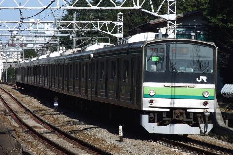 【JR東】205系クラH13編成 東京総合車両センター出場