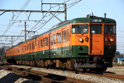 【JR東】115系タカT1091編成 大宮総合車両センター入場