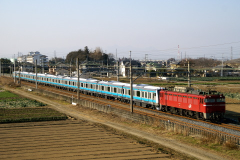 【JR東】E233系ウラ181編成 配給輸送