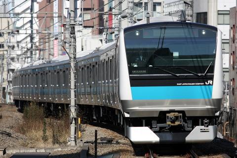 【JR東】E233系ウラ181編成 浦和電車区へ