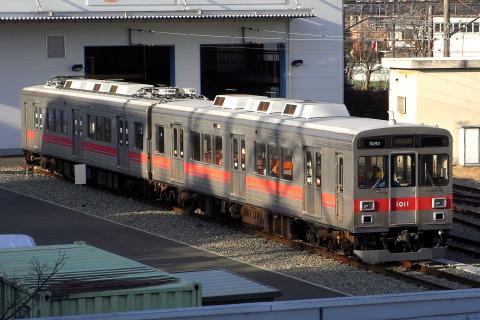 【東急】デハ1310とクハ1011が伊賀鉄道仕様に