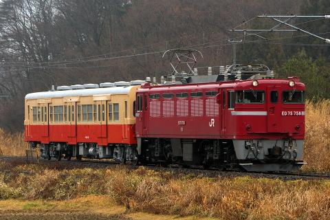 【JR東】キハ30-62 国鉄色で郡山総合車両センター出場