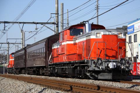 【JR東】高崎運輸区DD51転換訓練実施