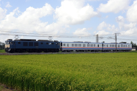 【関鉄】キハ5000形2両 甲種輸送