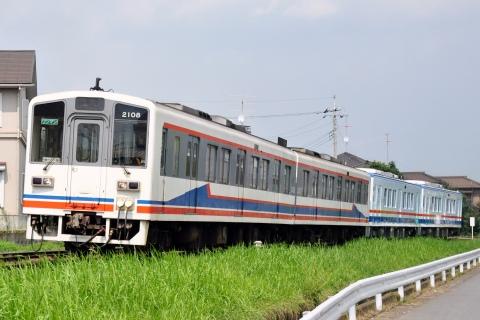 【関鉄】キハ5000形 キハ2100形牽引で水海道車両基地へ輸送