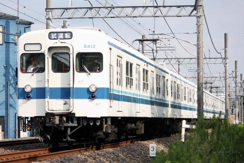 【東武】8000系8112F試運転
