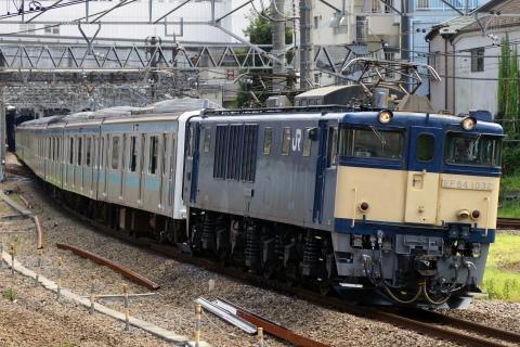 【JR東】209系ウラ54編成長野総合車両センターへ配給