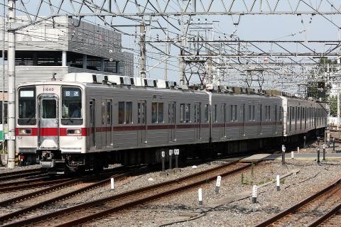 【東武】10030系11640F 川越工場入場