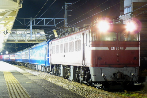 【JR九】14系寝台車6両 返却回送