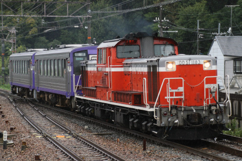 【JR西】キハ120-15とキハ120-302 網干総合車両所出場