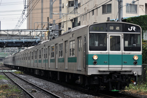 【JR東】203系マト53編成 東京総合車両センター出場