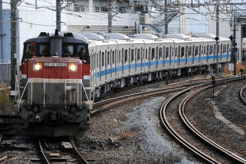 【小田急】4000形4061F(新宿方6両)甲種輸送