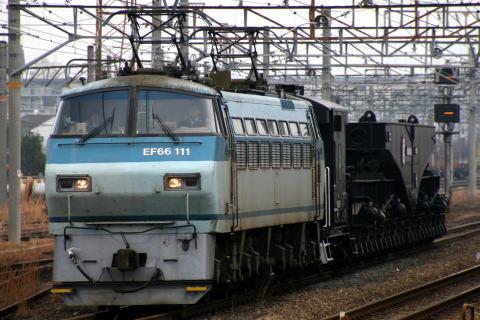 【JR貨】シキ611B1 西浜へ回送