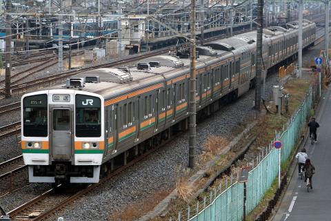 【JR東】211系チタN4編成 大宮総合車両センター入場