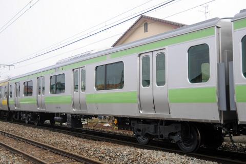 【JR東】山手線用E231系サハ600/4600番代 車両細部