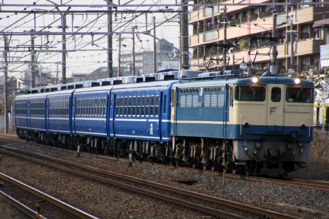 【JR西】12系5両 「SL北びわこ号」送り込み回送