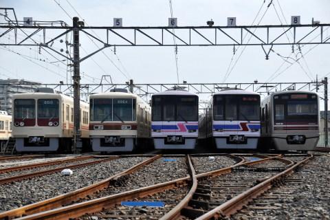 【新京成】第16回「電車基地見学・展示会」開催