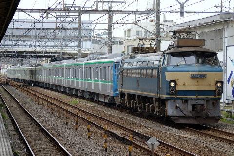 【メトロ】16000系16103F 甲種輸送