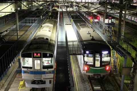 【メトロ】16000系16101F 深夜試運転で小田急へ入線
