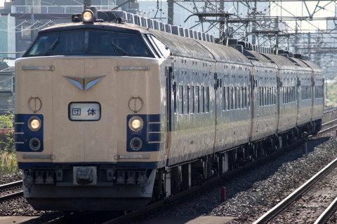 【JR東】583系仙台車使用 TDR臨運転
