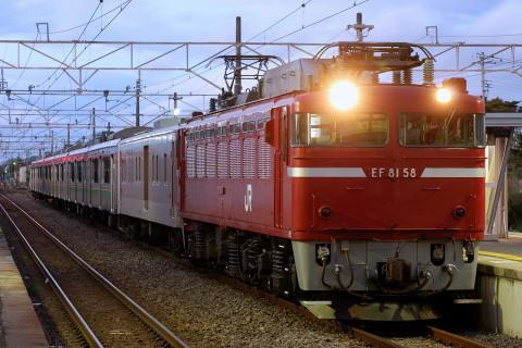 【JR東】701系仙台車6両 配給輸送