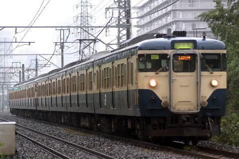 【JR東】113系マリS71・S222編成 編成組み替え