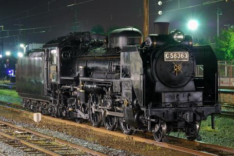 【秩父】C58-363 高崎へ配給輸送