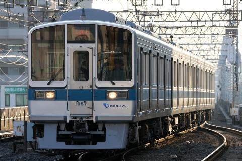 【小田急】1000形1057F(4連) 出場試運転