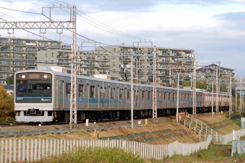 【小田急】1000形1059F+3000形3257F試運転
