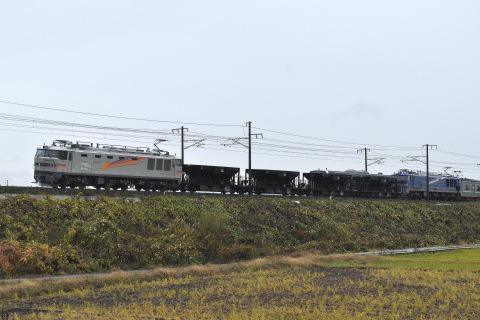 【JR東】EF510プッシュプル ホキ試運転