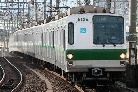【メトロ】6000系6126F 臨時回送