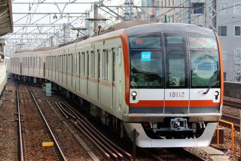 【メトロ】10000系10112F 綾瀬工場出場