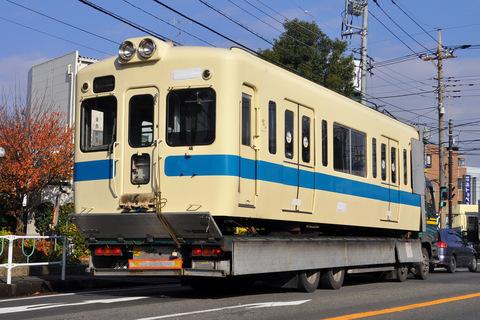【小田急】5200形5270F(新宿側2両)搬出