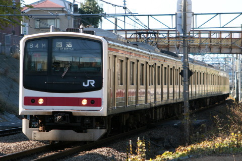 【JR東】205系ケヨY9編成 返却回送