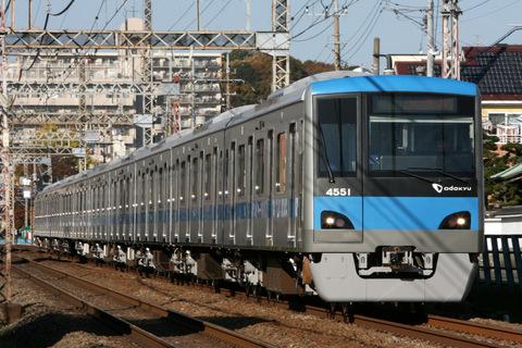 【小田急】4000形4051F(10連) 出場試運転