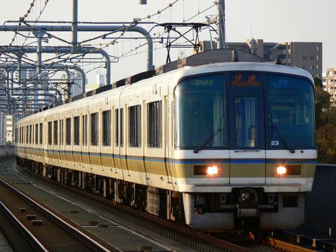 【JR西】221系 阪和線での営業運転終了