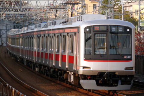 【東急】5050系5151F 長津田車両工場出場
