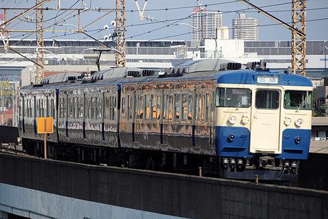 【JR東】115系トタM10編成 大宮総合車両センター出場