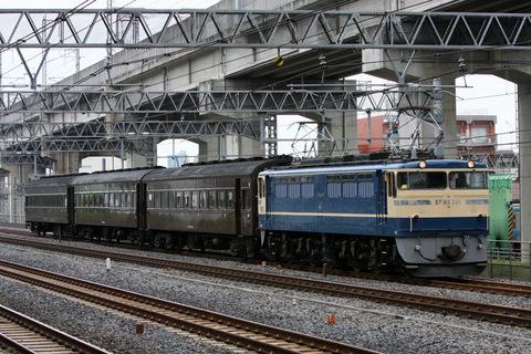【JR東】C11-325+旧型客車3両 返却配給(2日目)