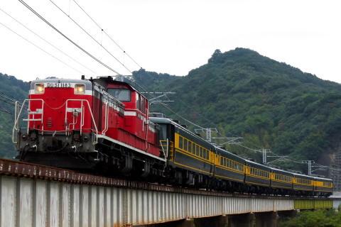 【JR西】14系『サロンカーなにわ』使用 団体臨時列車(復路)