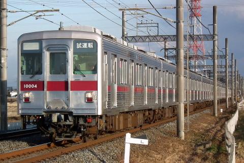 【東武】10000系11004F 試運転