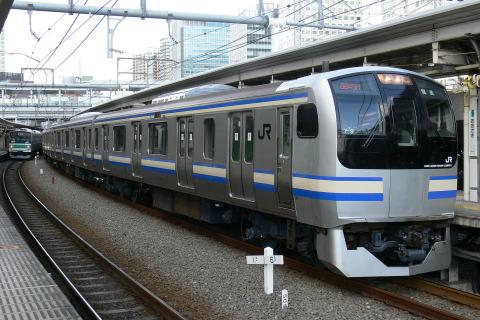【JR東】E217系クラY9編成 東京総合車両センター出場
