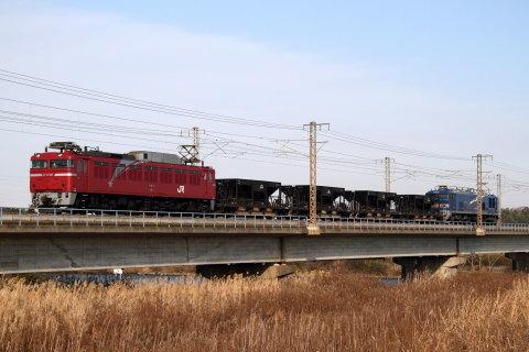 【JR東】EF81-97+ホキ4両+EF510-512 試運転(26日)