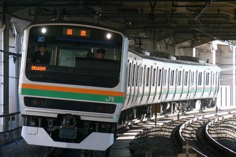 【JR東】E231系ヤマU39編成 東京総合車両センター出場